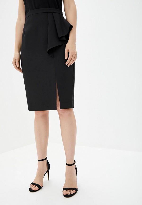 женская зауженные юбка arefeva, черная