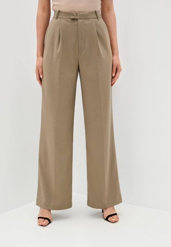 женские классические брюки lime, хаки