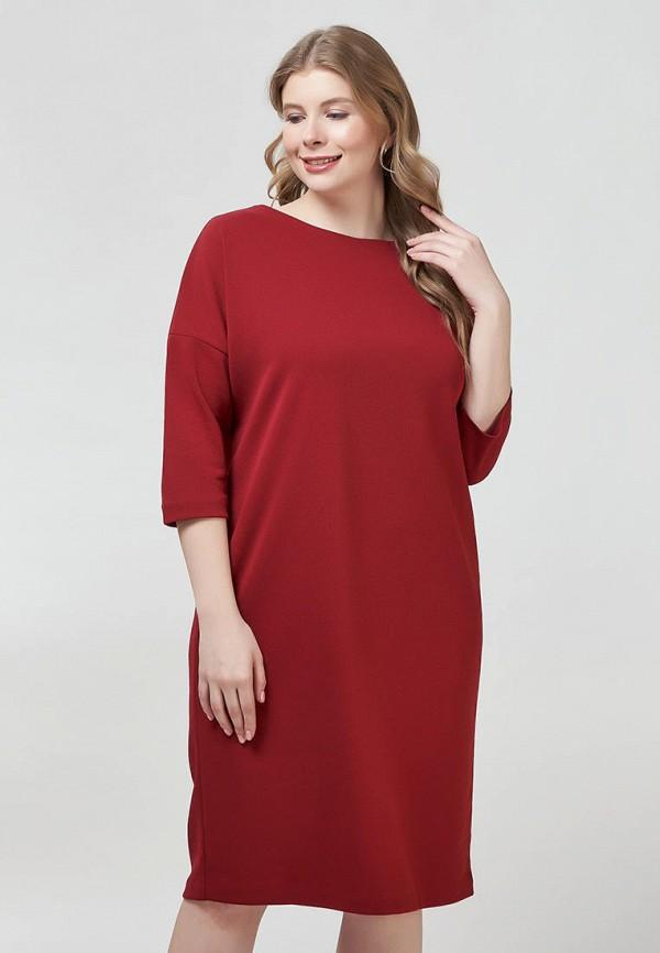 женское повседневные платье olsi, бордовое