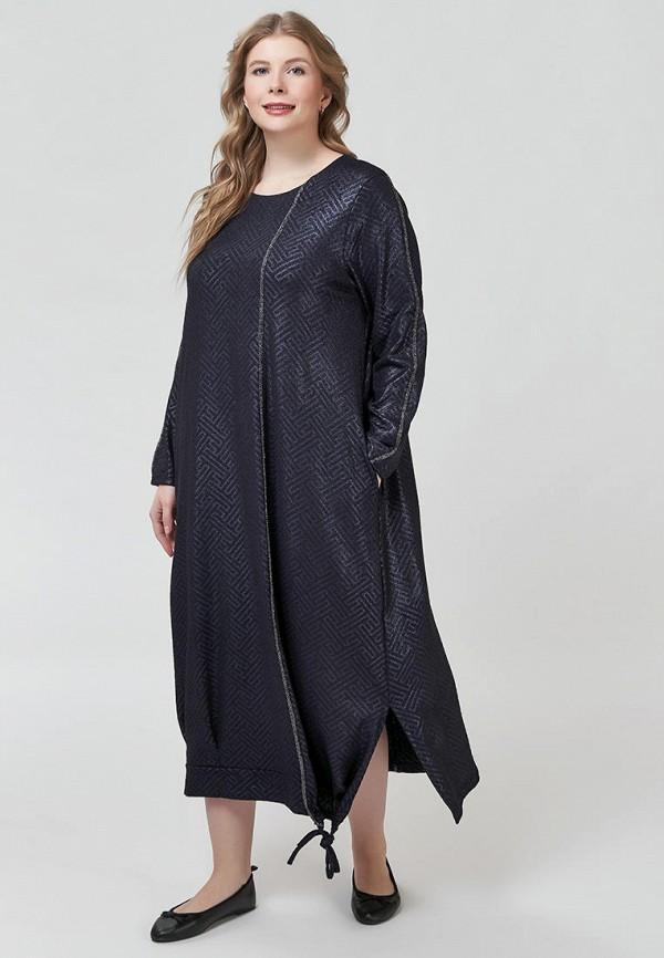 женское повседневные платье olsi, синее