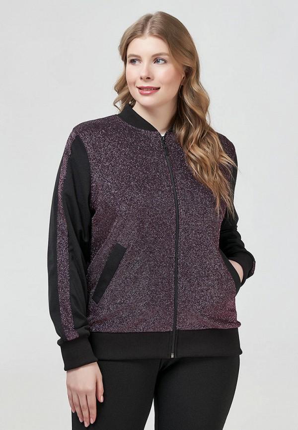 женская куртка бомбер olsi, фиолетовая