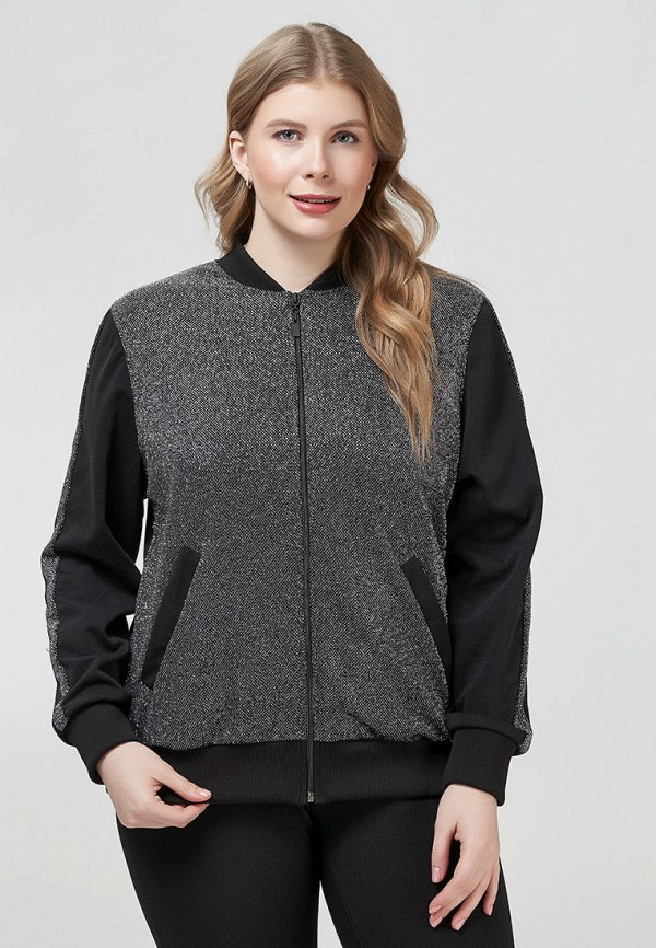 женская куртка бомбер olsi, серебряная