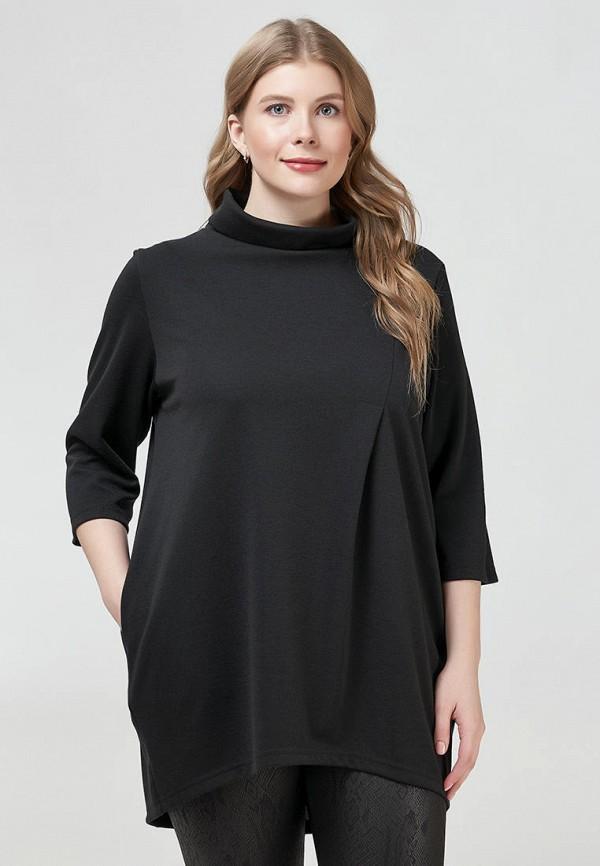 женская туника olsi, черная