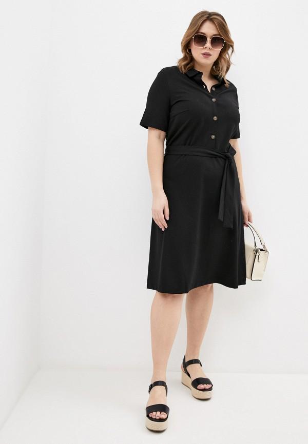 женское платье мини zarina, черное