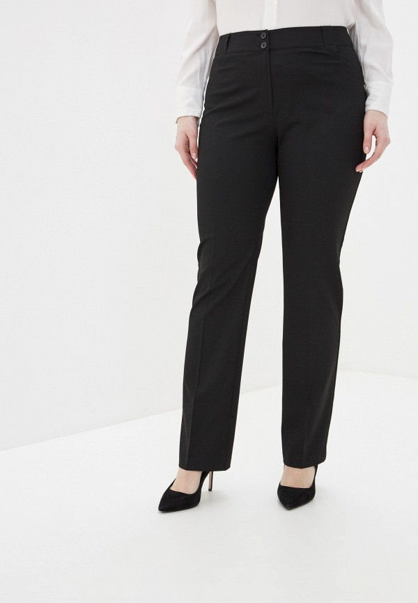 женские классические брюки antiga, черные