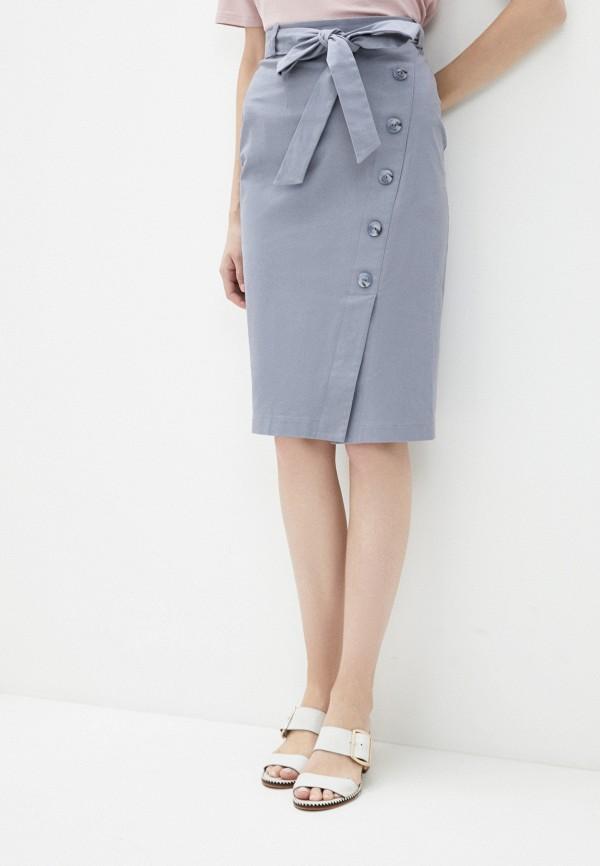 Фото - Женскую юбку Argent серого цвета