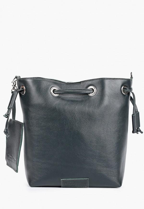 женская сумка через плечо lui lu, зеленая
