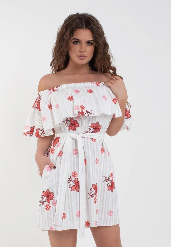 женское платье modna anka, белое