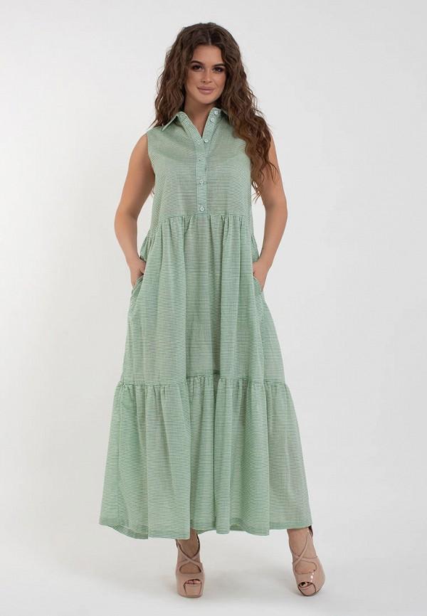 женское платье modna anka, зеленое