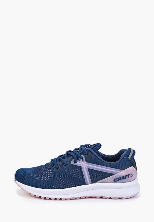 женские кроссовки craft, синие