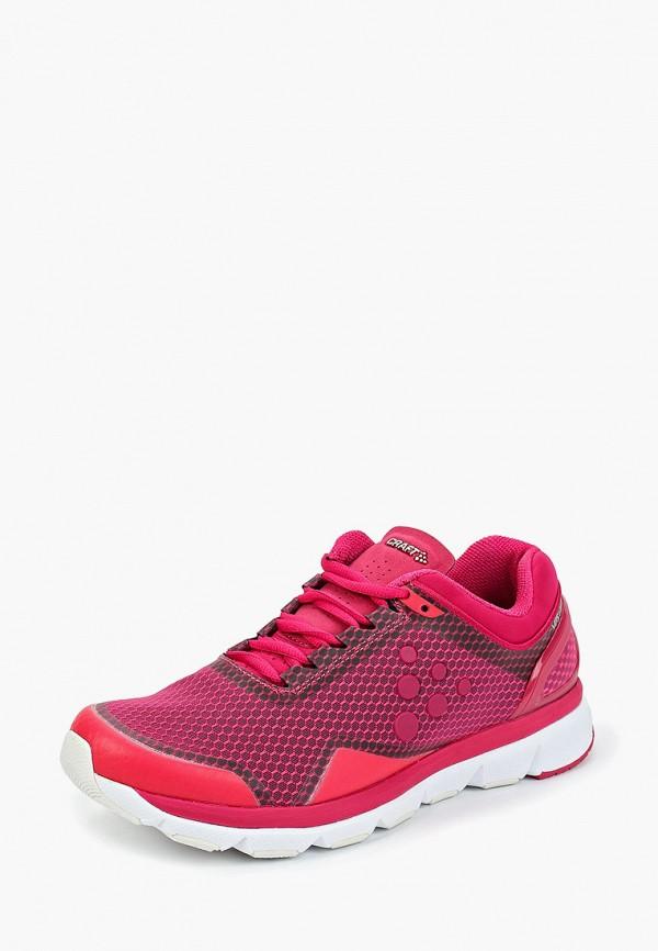 женские кроссовки craft, розовые