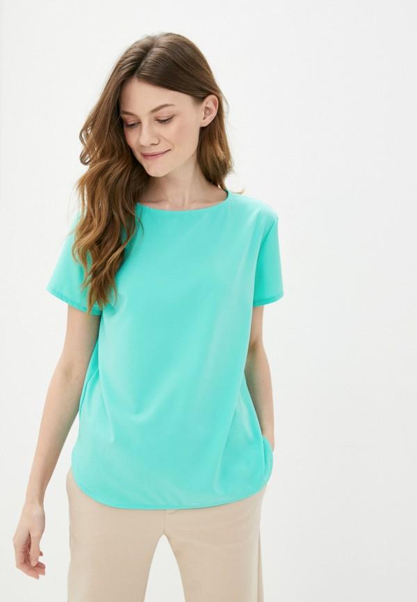 Блуза Froggi цвет бирюзовый