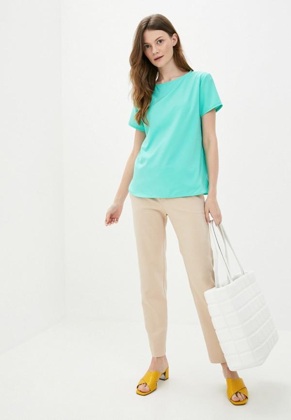 Блуза Froggi цвет бирюзовый  Фото 2