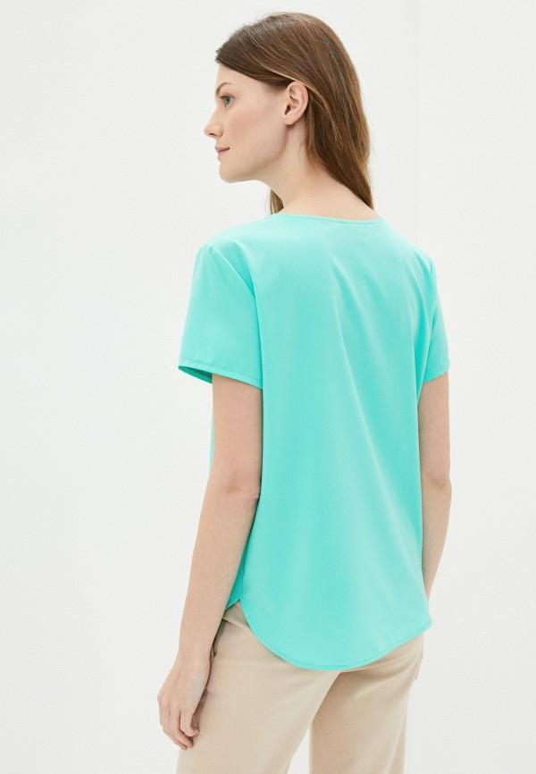 Блуза Froggi цвет бирюзовый  Фото 3