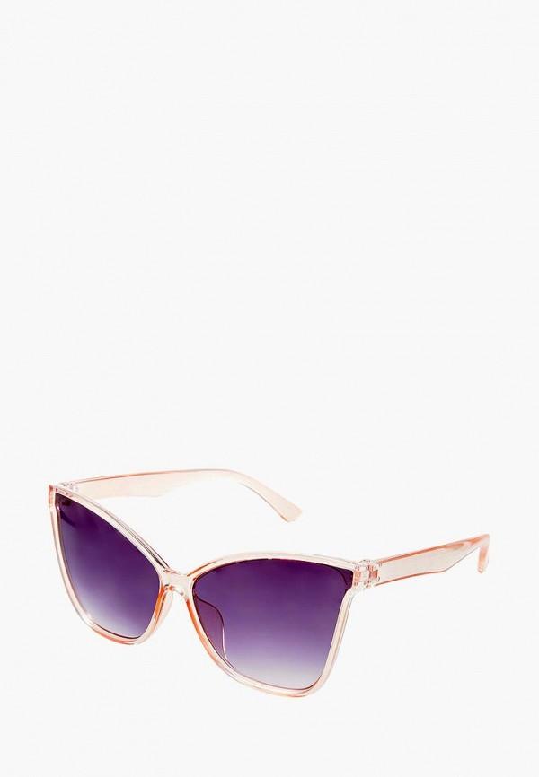 женские солнцезащитные очки кошачьи глаза aiyony macie, розовые
