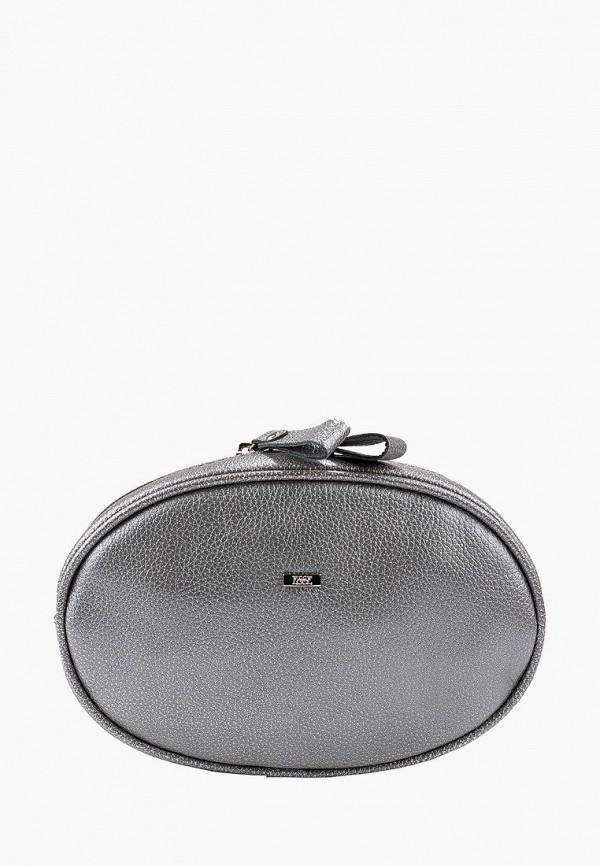 женская поясные сумка esse, серебряная
