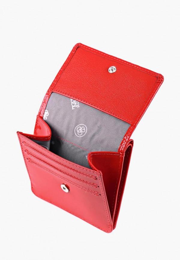 Фото 2 - Женский кошелек или портмоне Esse красного цвета