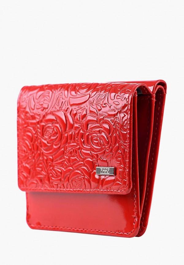 Фото 3 - Женский кошелек или портмоне Esse красного цвета