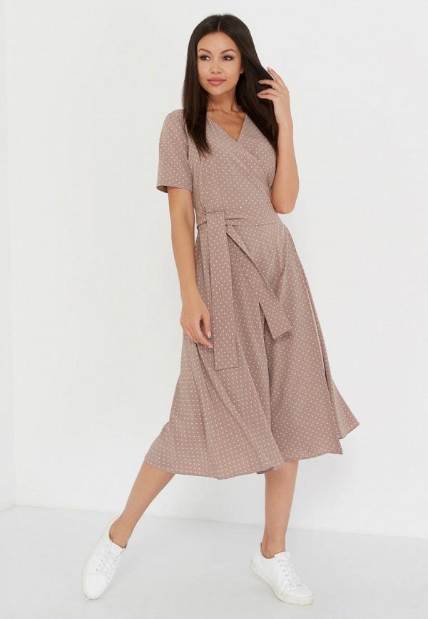 Фото - Женское платье A.Karina бежевого цвета