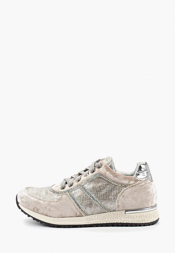 женские низкие кроссовки airbox, серебряные