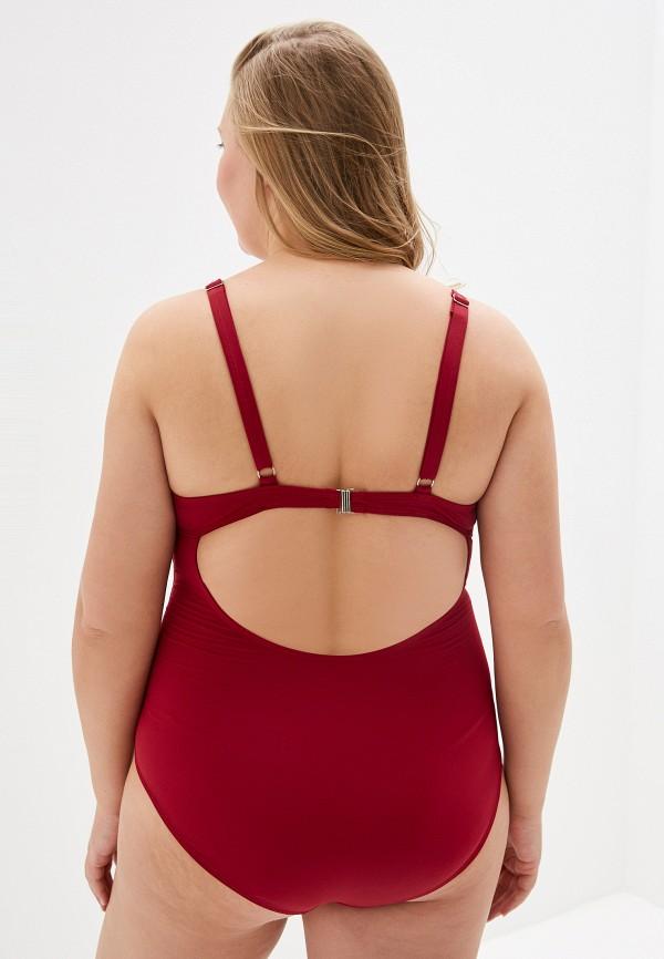 Купальник Chic de Femme цвет бордовый  Фото 3