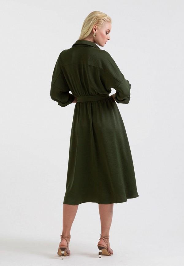 Платье Lova цвет зеленый  Фото 3