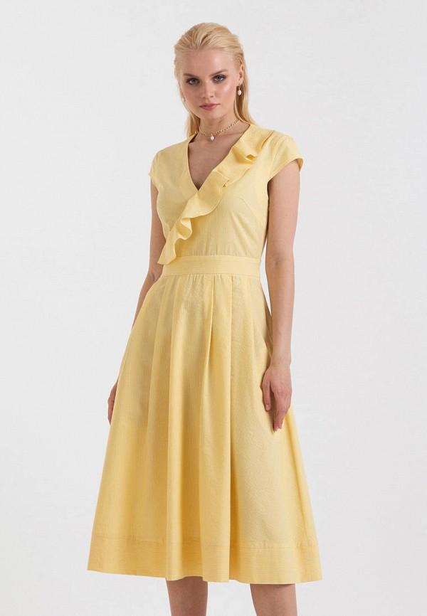 Платье Lova цвет желтый