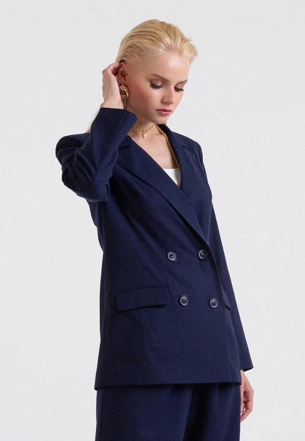 женский пиджак lova, синий