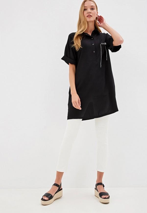 Фото - Женское платье Tantino черного цвета