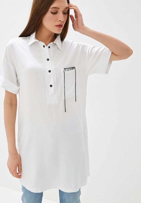Фото - Женскую тунику Tantino белого цвета