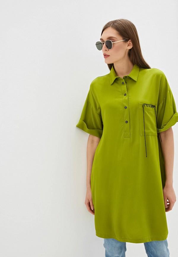 Фото - Женскую тунику Tantino зеленого цвета