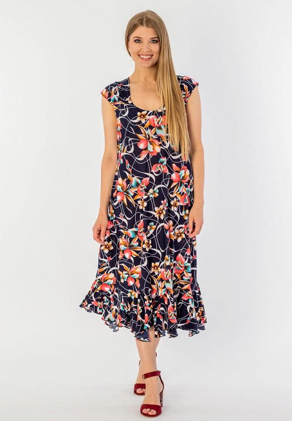 Фото - Женское платье Malena синего цвета