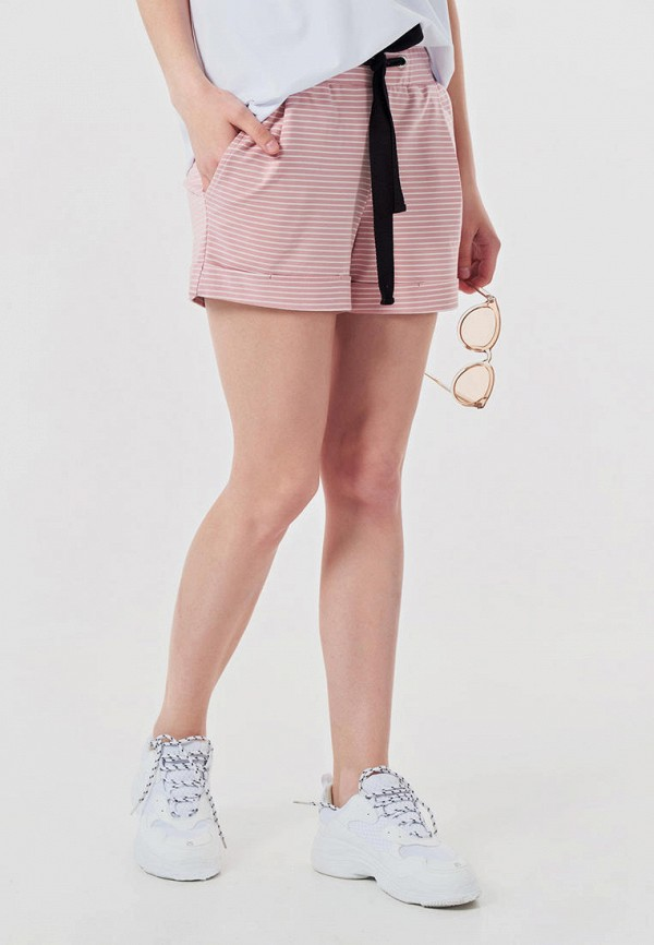 женские шорты fly, розовые