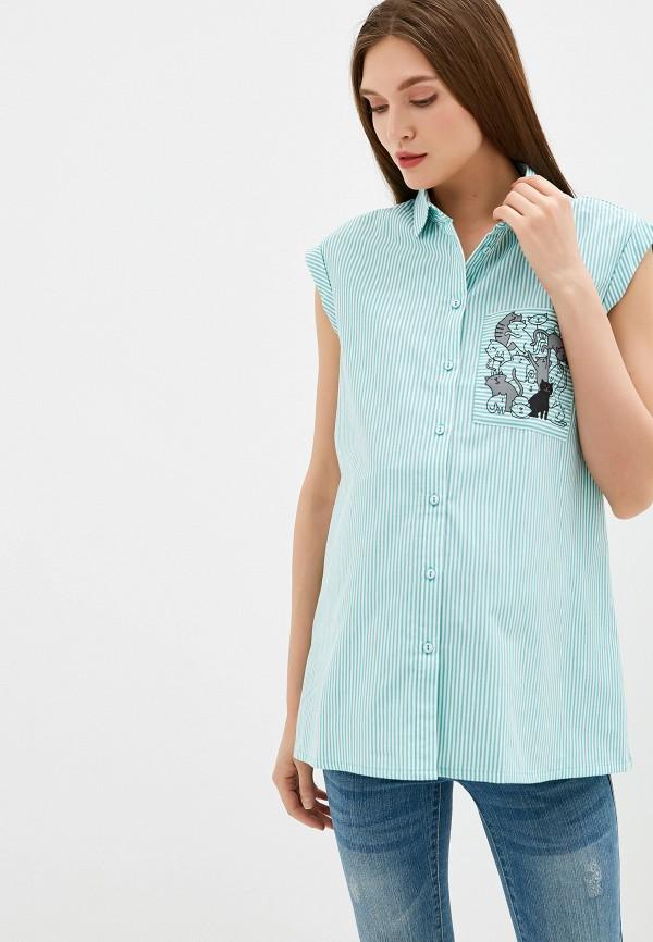женская блузка budumamoy, зеленая