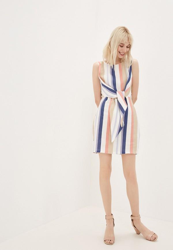 Фото 2 - Женское платье Joymiss разноцветного цвета