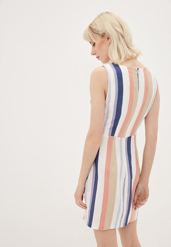 Фото 3 - Женское платье Joymiss разноцветного цвета