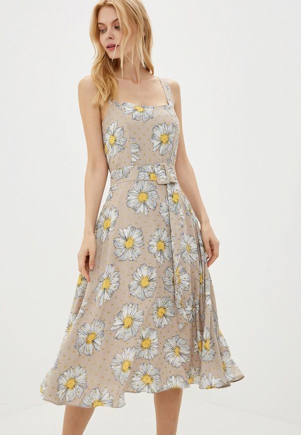 Фото - Женское платье Joymiss бежевого цвета