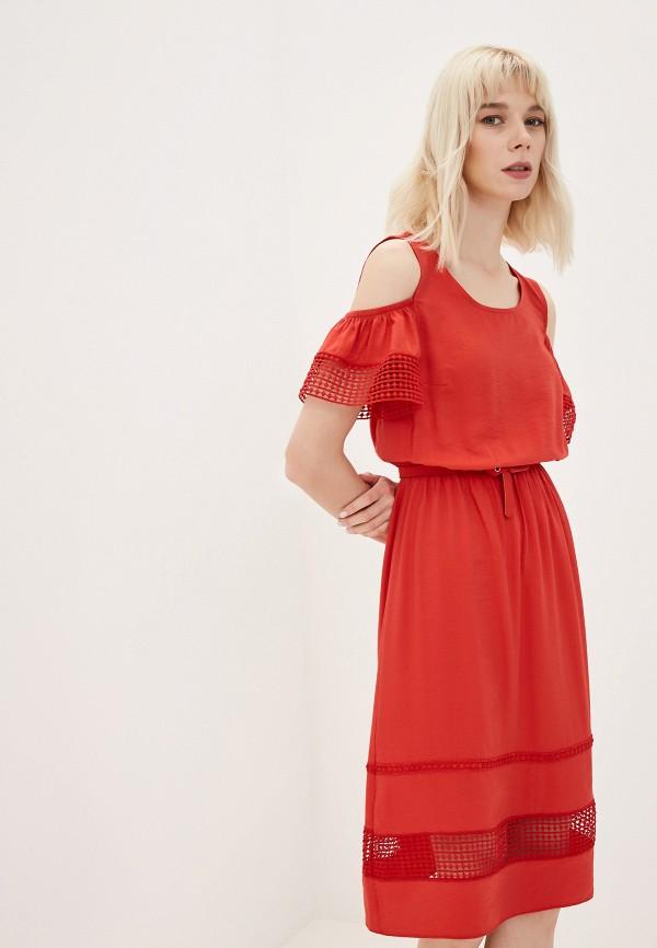 Платье Joymiss красного цвета