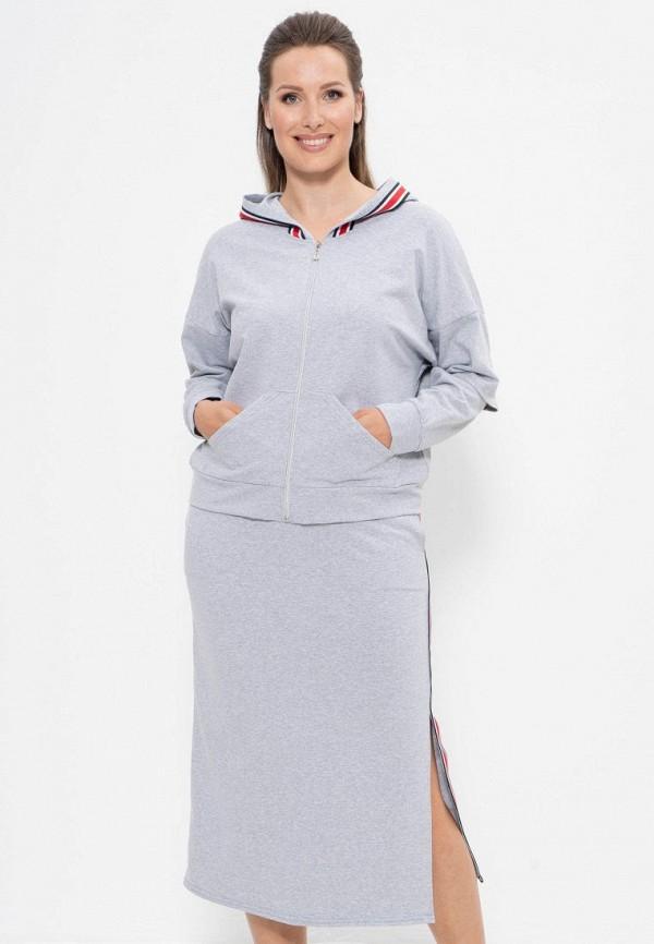 женский костюм cleo, серый