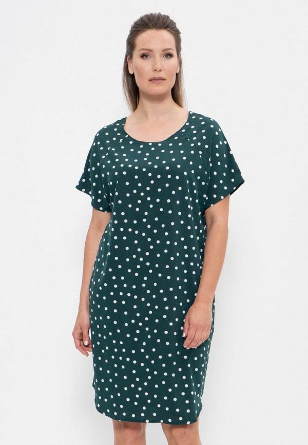 женское платье cleo, зеленое