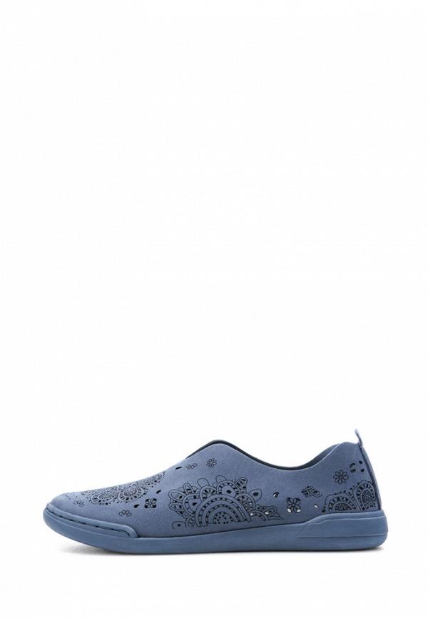 женские слипоны grunberg, синие