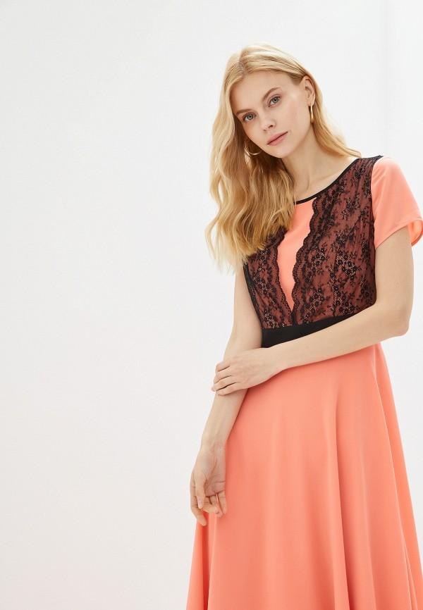 Платье GSFR цвет коралловый  Фото 2