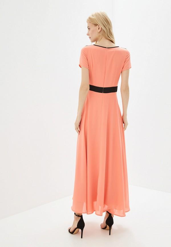 Платье GSFR цвет коралловый  Фото 3