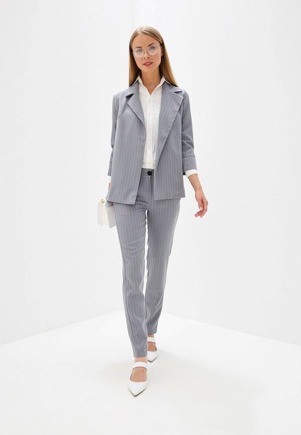 женский костюм vivaldi, серый
