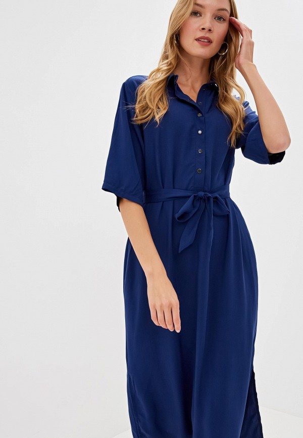 Фото - Женское платье Tantino синего цвета