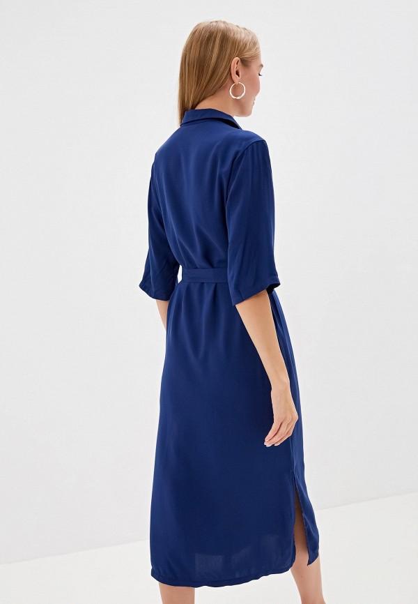 Фото 3 - Женское платье Tantino синего цвета