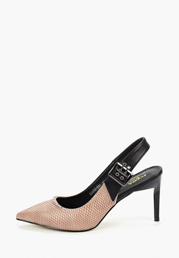 женские туфли forza viva, розовые