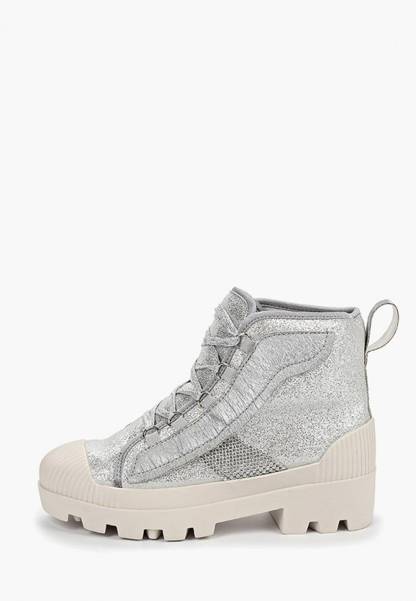 женские ботинки forza viva, серебряные