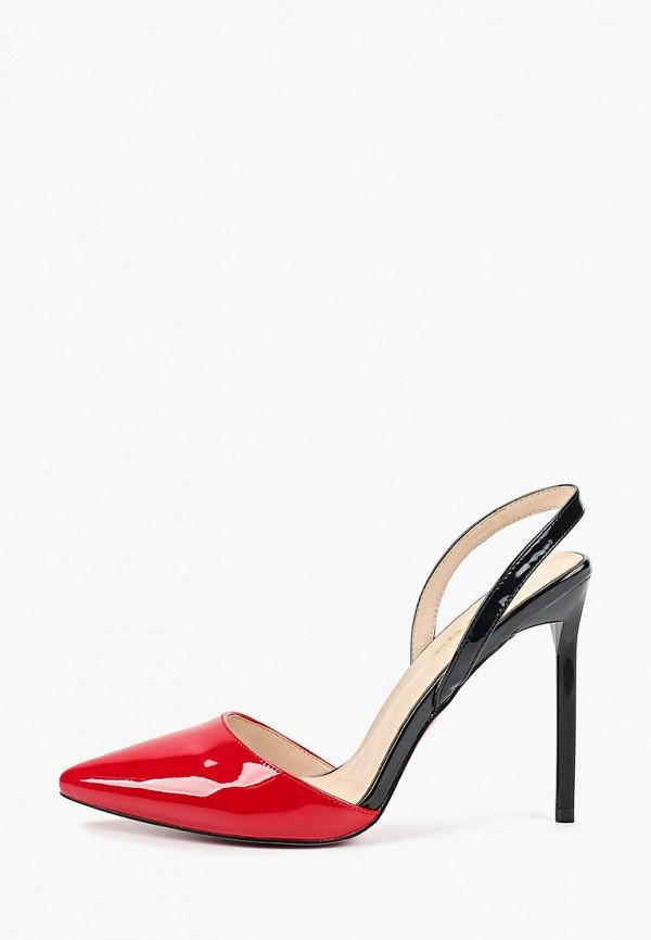 женские туфли forza viva, красные