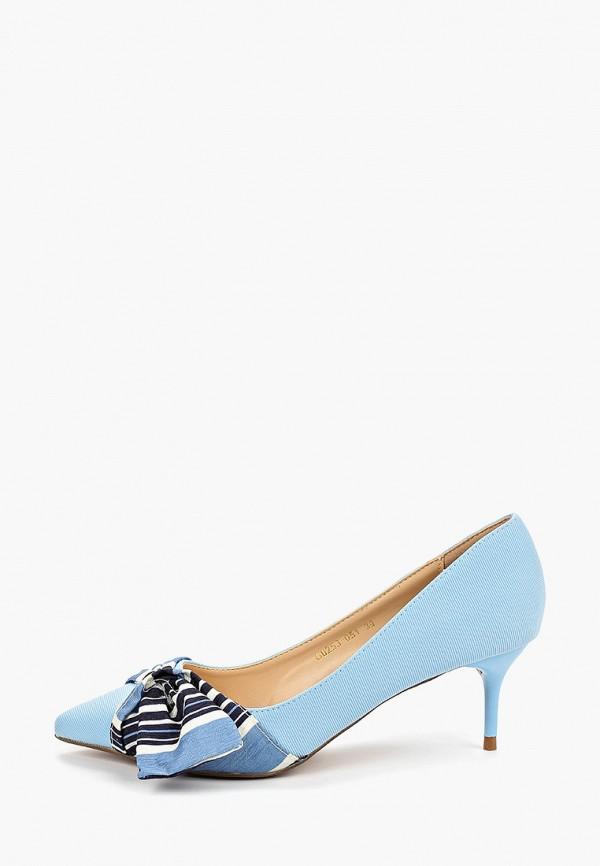женские туфли forza viva, голубые